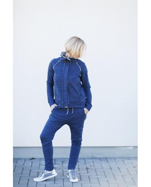 Užsegamas džemperis (mėlynas)