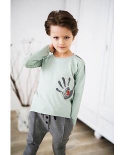 Marškinėliai melsvi