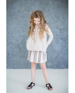 Vaikiškas klostuotas sijonas