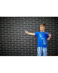 """Vaikiški marškinėliai """"NE"""" mėlyni"""