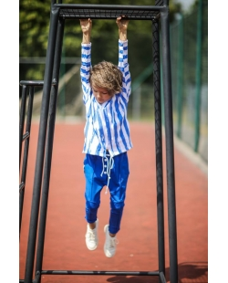 Dryžuotas džemperis (mėlynas)
