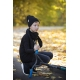 Juodos spalvos dviguba kepurė