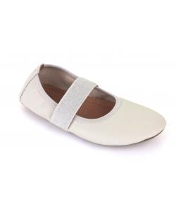 Šokių odiniai bateliai-češkės (baltos)
