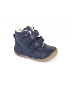 Mėlyni šilti auluniai batai su vilna