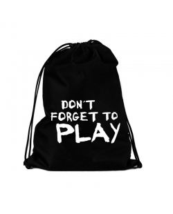 "Krepšys sportinei aprangai "" Don't Forget To Play"""