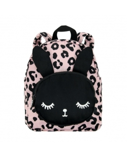"Kuprinė ""Backpack Bunny Leopard Pink Small"""
