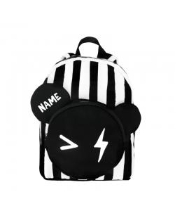 """Kuprinė su pageidaujamu vardu """"Bear Backpack Stripe"""""""
