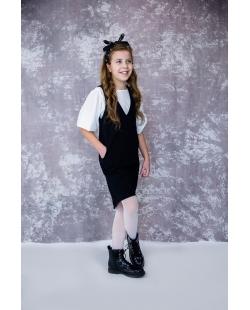 Vaikiškas sarafanas juodas