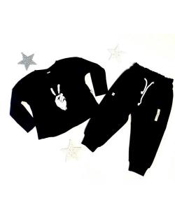 """Derinys vaikams - marškinėliai """"Victory""""(juodi) + kelnės"""