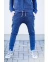 Kelnės su 3D kišenėmis (mėlynos)