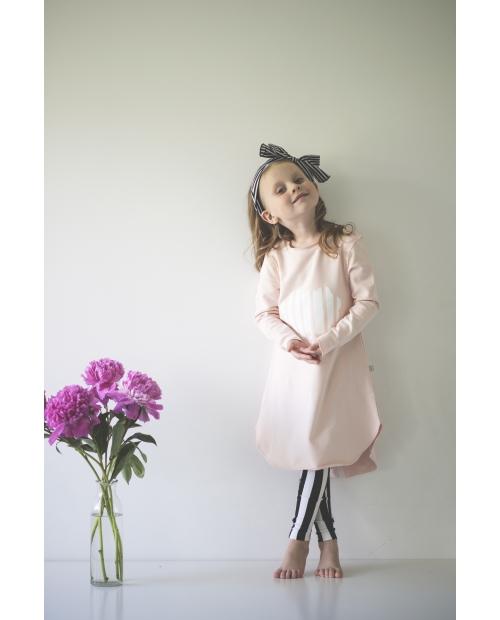 """Suknelė """"Debesis"""" rožinė"""
